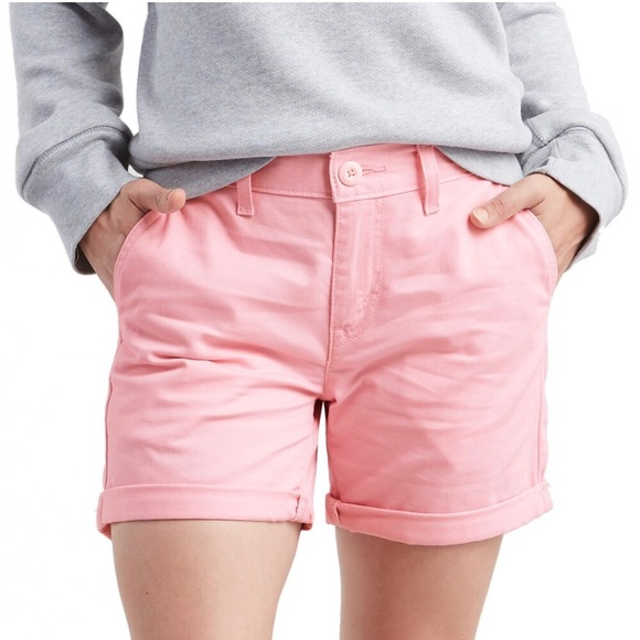 Levi's Pants - NWT Womens Size 16 Levis Pink Classic Chino Shorts